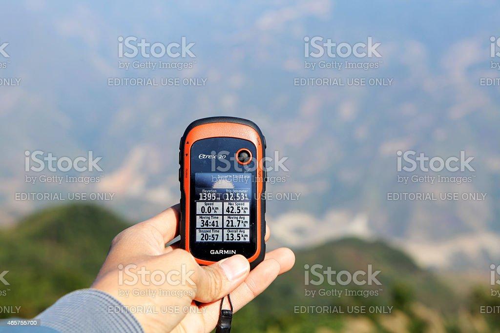 GPS stock photo
