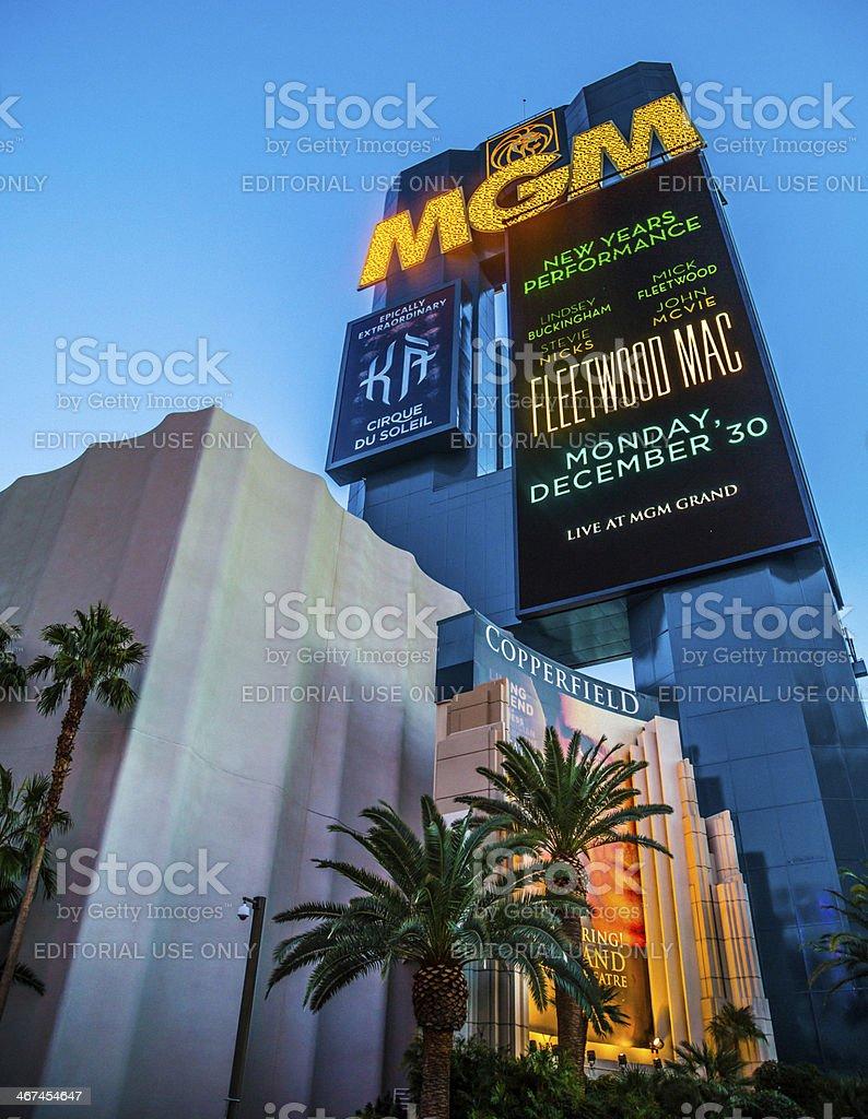 MGM stock photo