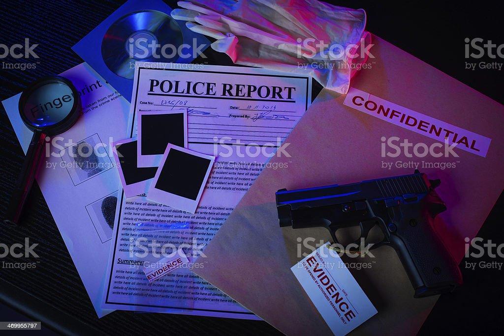 CSI royalty-free stock photo