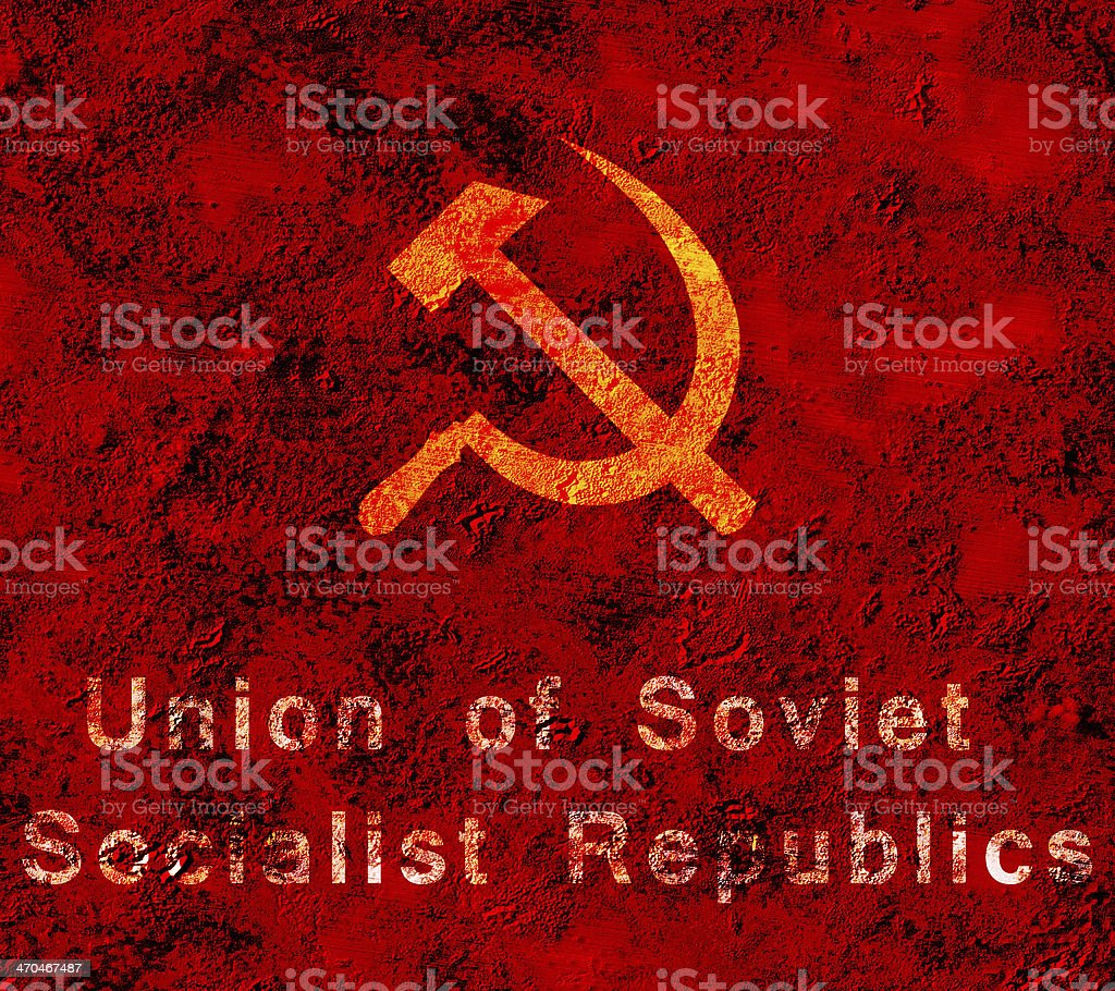 USSR royalty-free stock photo