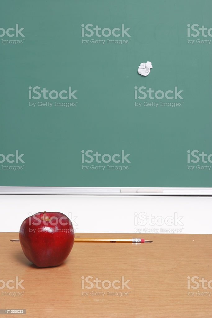 THE SPIT 'WAD'! (back to school) royalty-free stock photo