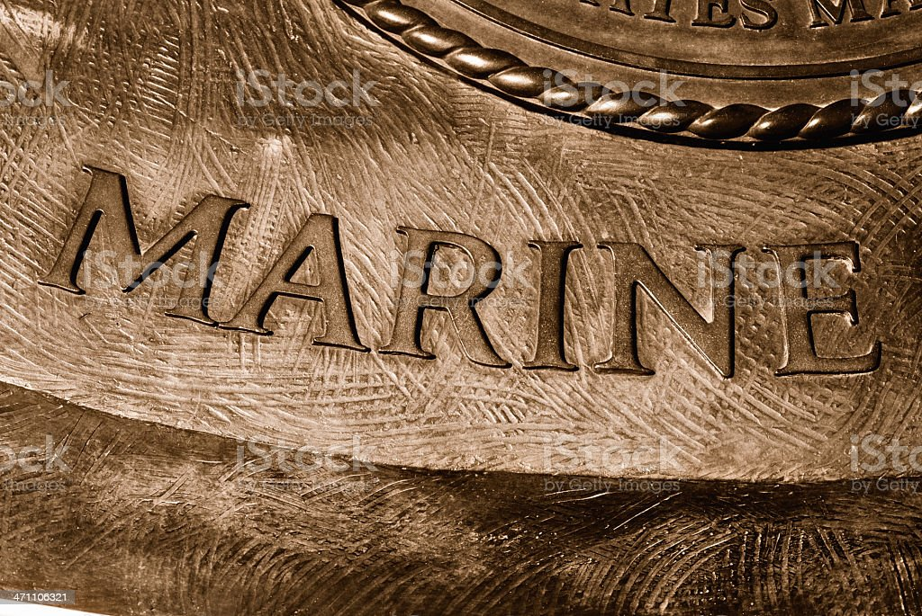 MARINE stock photo