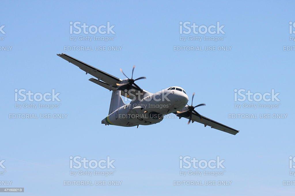 ATR42 royalty-free stock photo