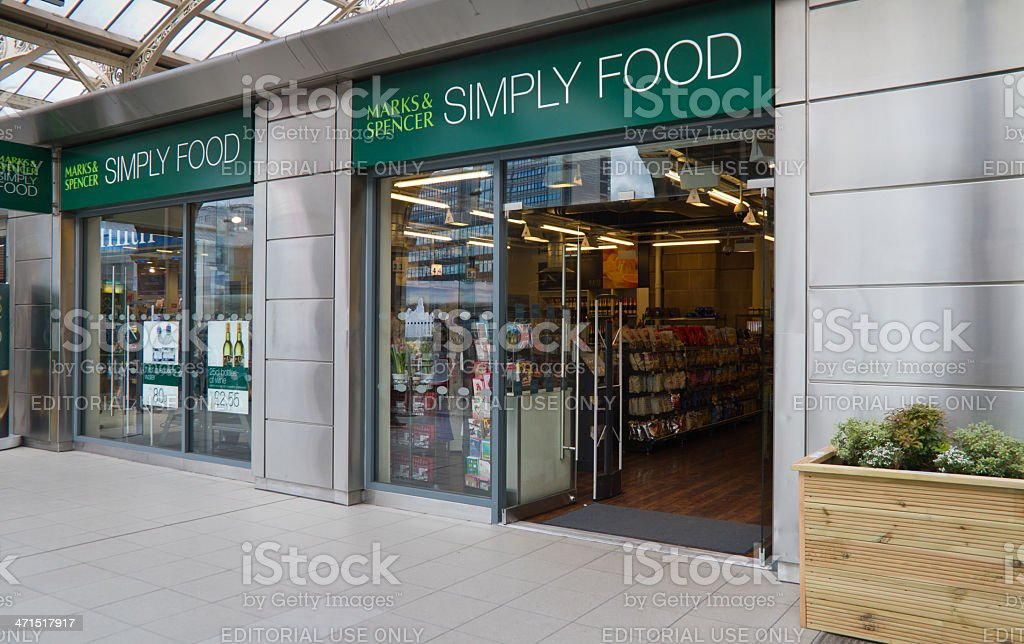 SIMPLY FOOD stock photo