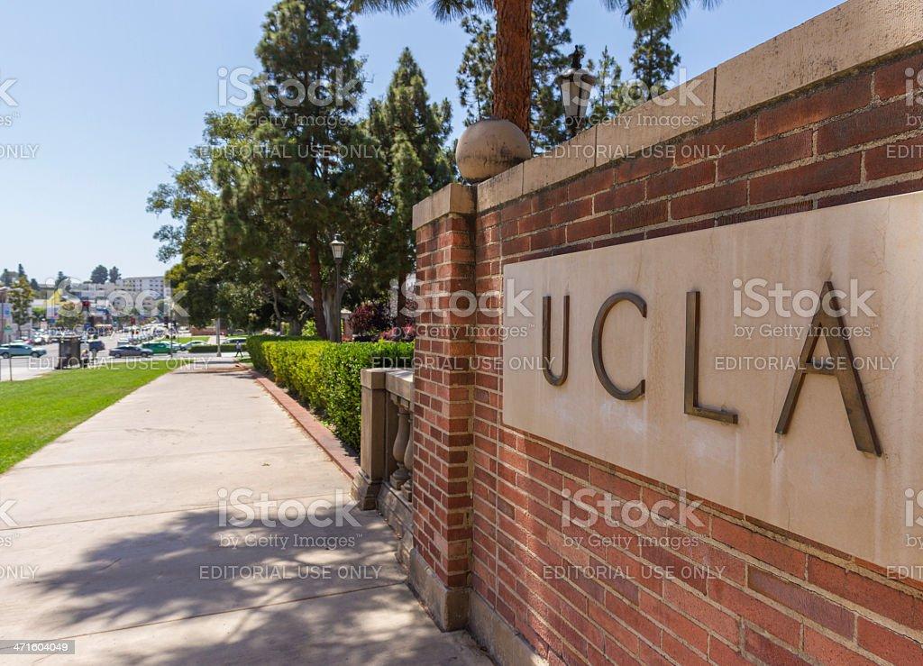 UCLA royalty-free stock photo