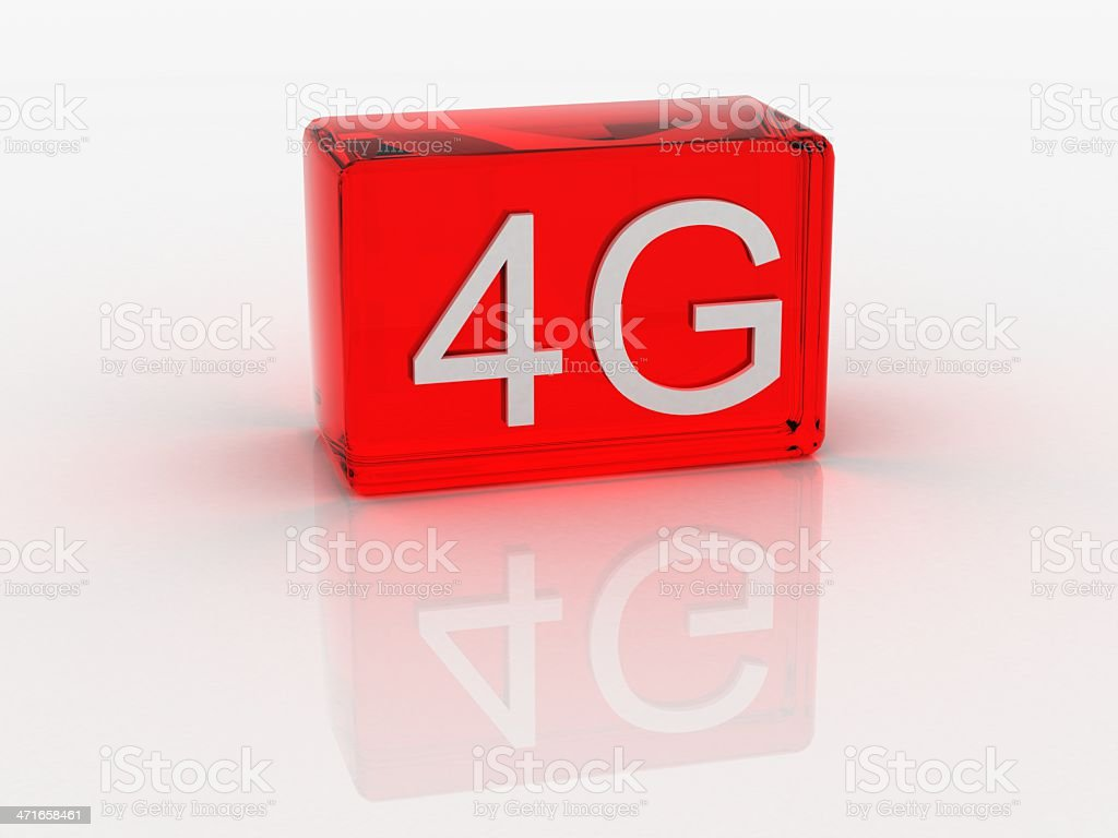 4G royalty-free stock photo