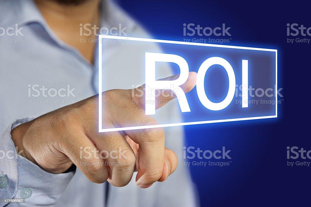 ROI stock photo