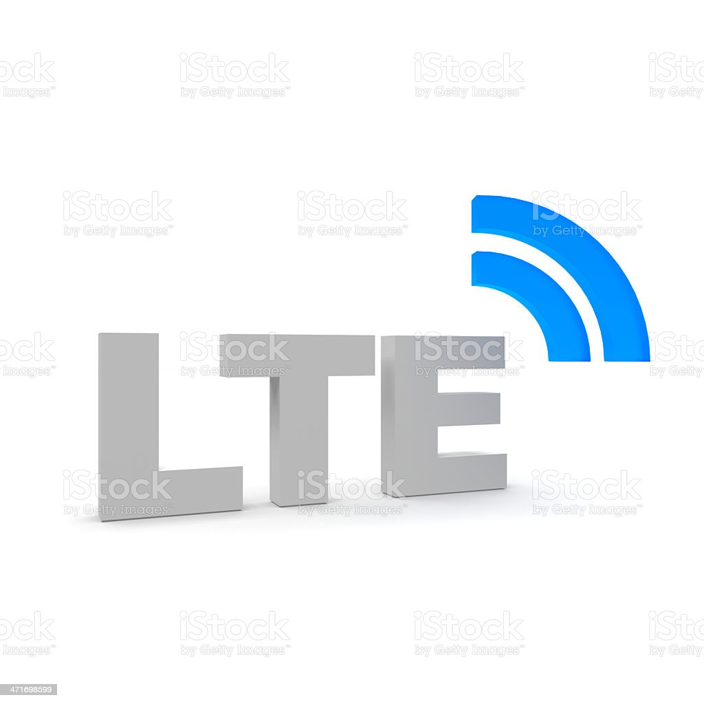 LTE stock photo