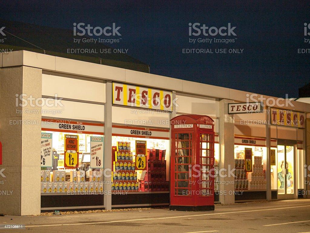 TESCO stock photo