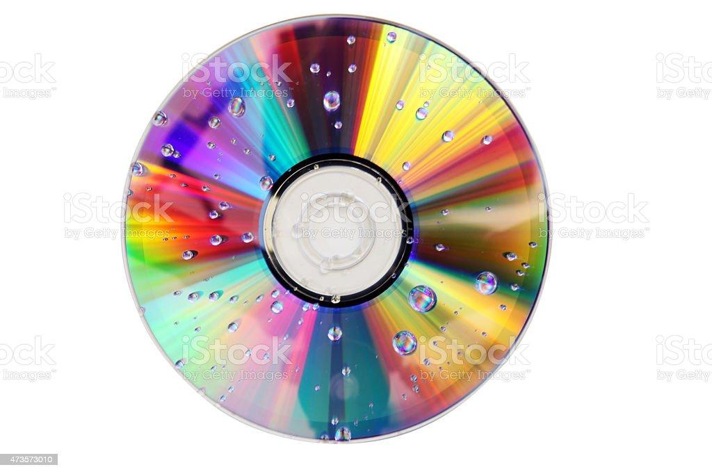 CD/DVD stock photo