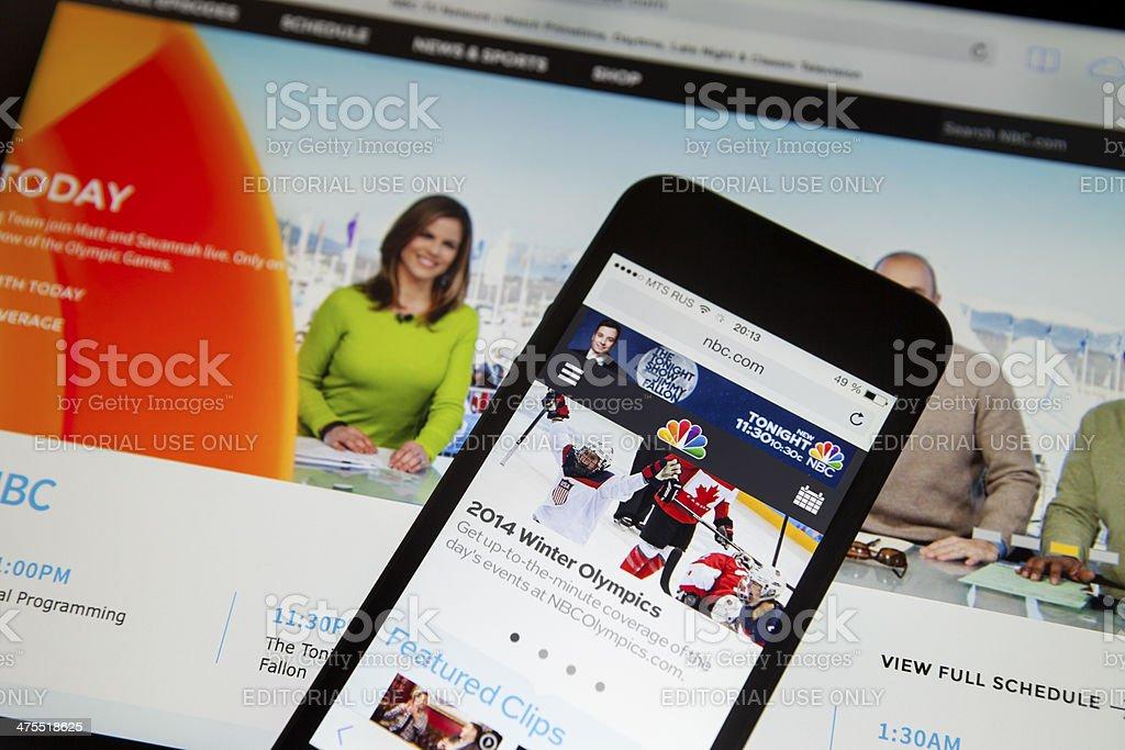 NBC.COM stock photo