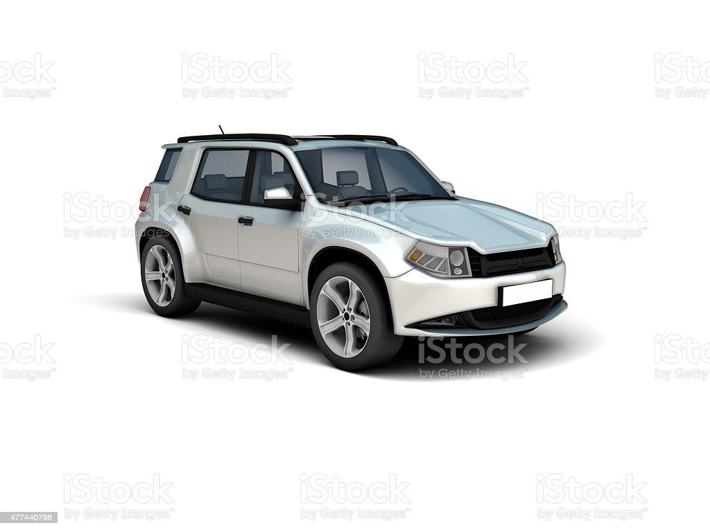 SUV stock photo