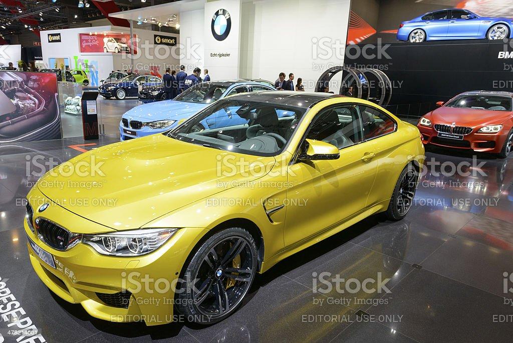 BMW M4 stock photo