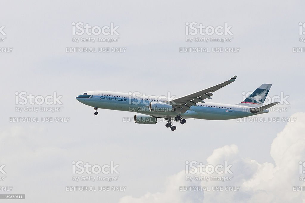 CX CATHAY PACIFIC stock photo