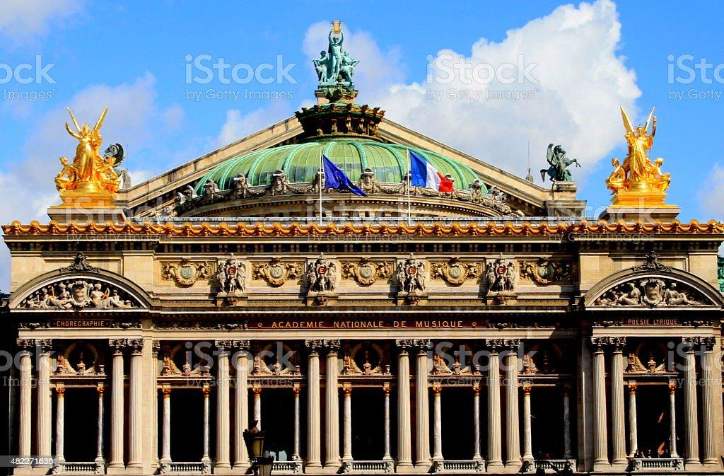 THE OPERA OF PARIS stock photo