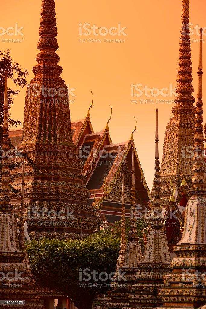 THAILAND BANGKOK WAT PHO royalty-free stock photo