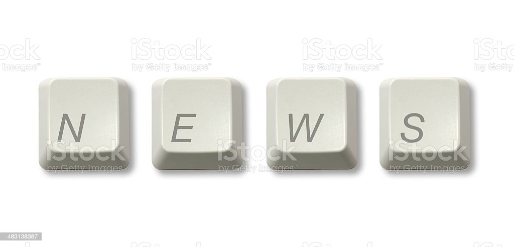 NEWS stock photo