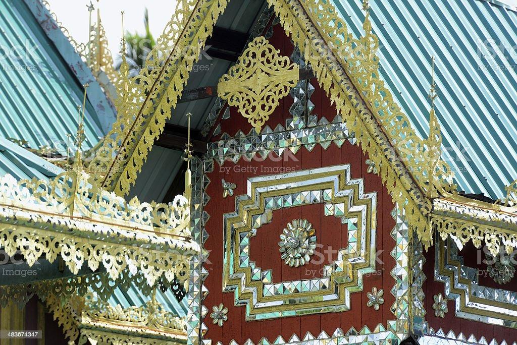AIA THAILAND MAE HONG SON TEMPLE stock photo