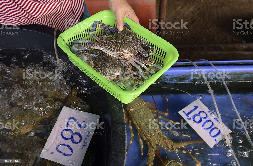 THAILAND PHKET SEAFOOD stock photo