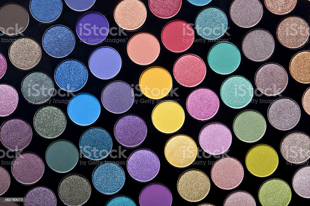 colorful circle pattern, creative abstract design background photo stock photo