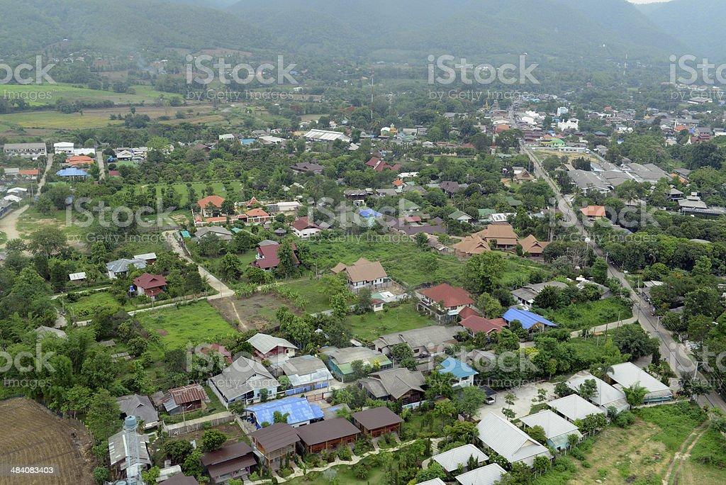 ASIA THAILAND PAI LANDSCAPE royalty-free stock photo