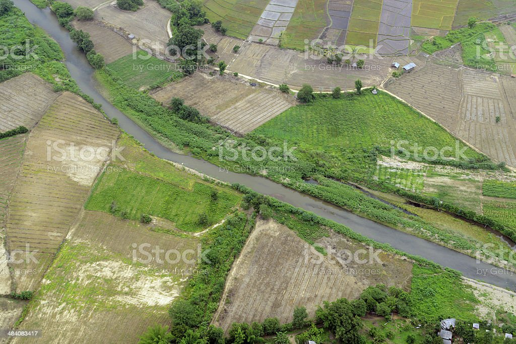 ASIA THAILAND PAI LANDSCAPE royalty-free stock photo
