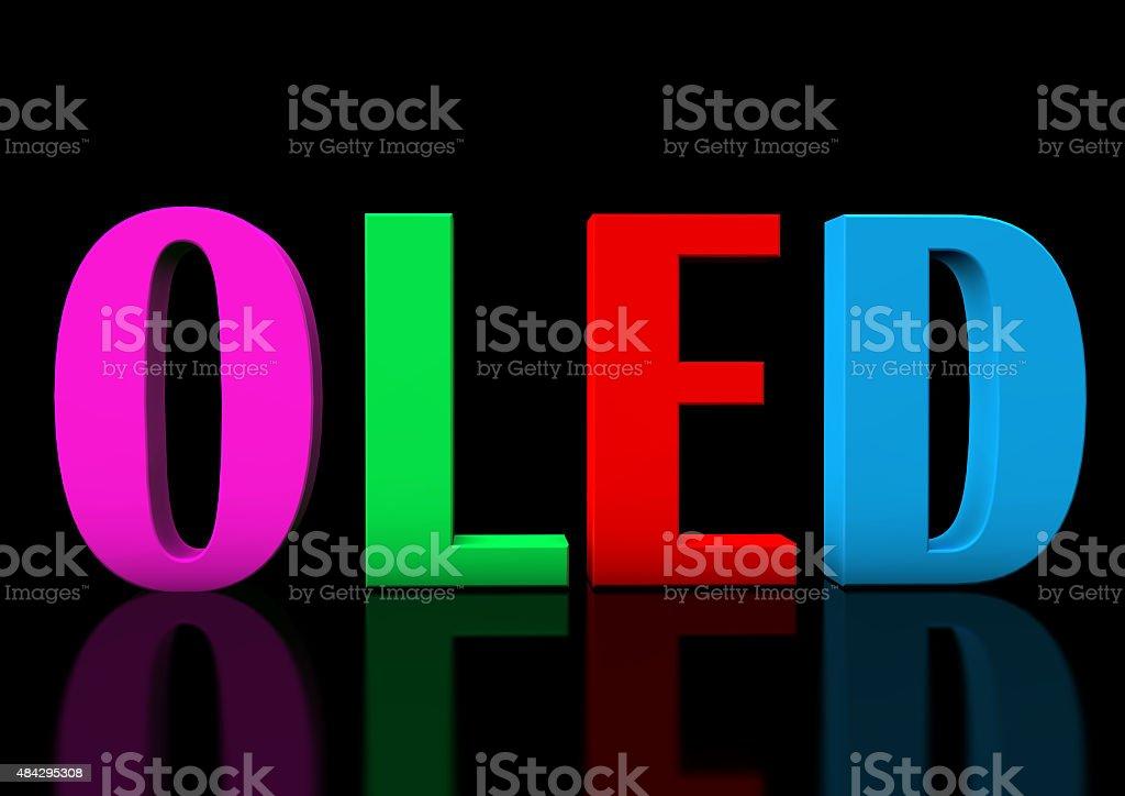 OLED stock photo