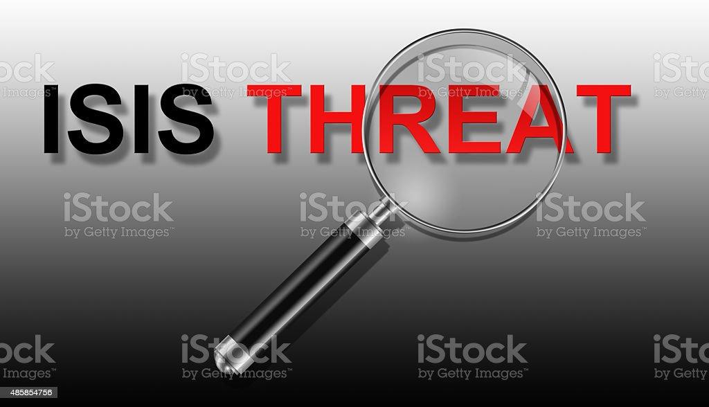 ISIS THREAT stock photo