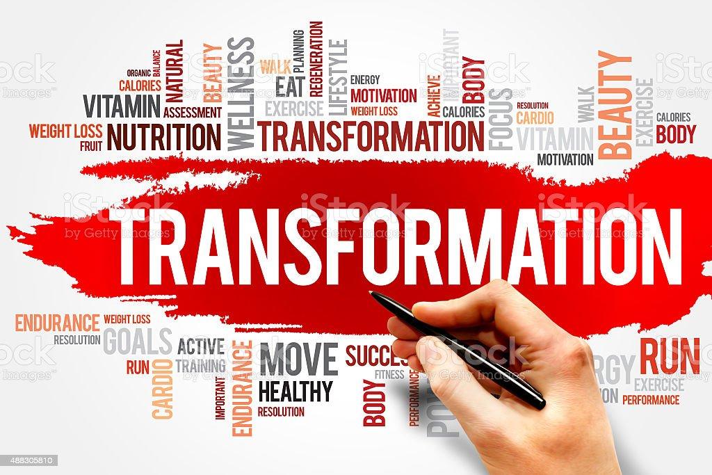 TRANSFORMATION stock photo