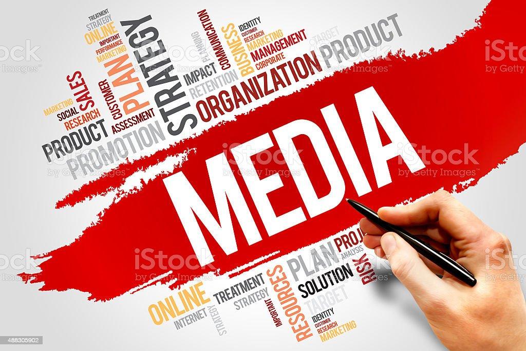 MEDIA stock photo