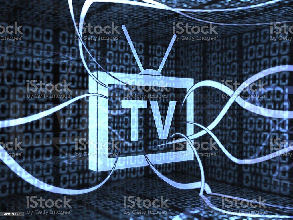 TV stock photo