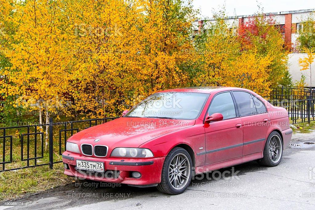 BMW E39 M5 stock photo