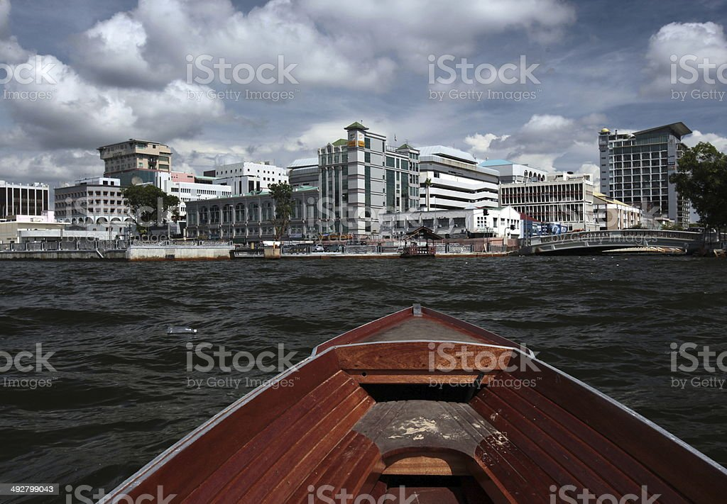 BRUNEI DARUSSALAM CITY stock photo