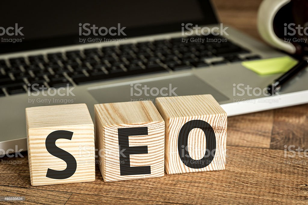SEO (Search Engine Optimization) stock photo