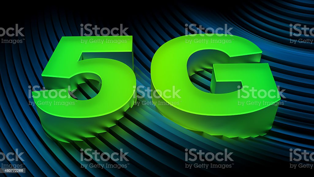 5G (fifth generation mobile networks) stock photo
