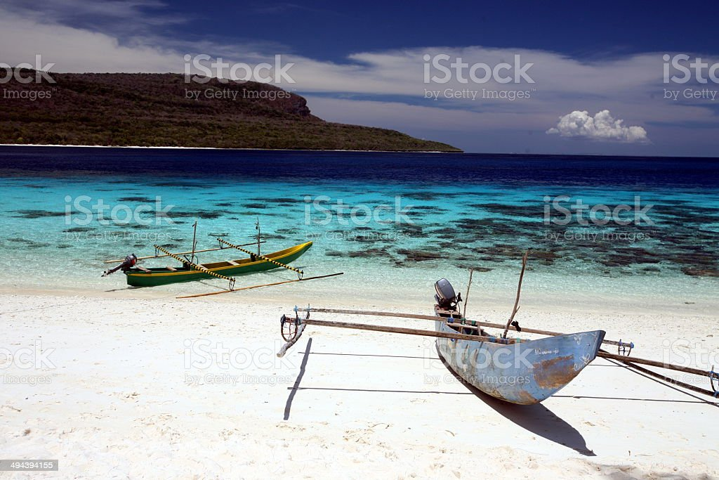 OST TIMOR TIMOR-LESTE JACO ISLAND BEACH stock photo