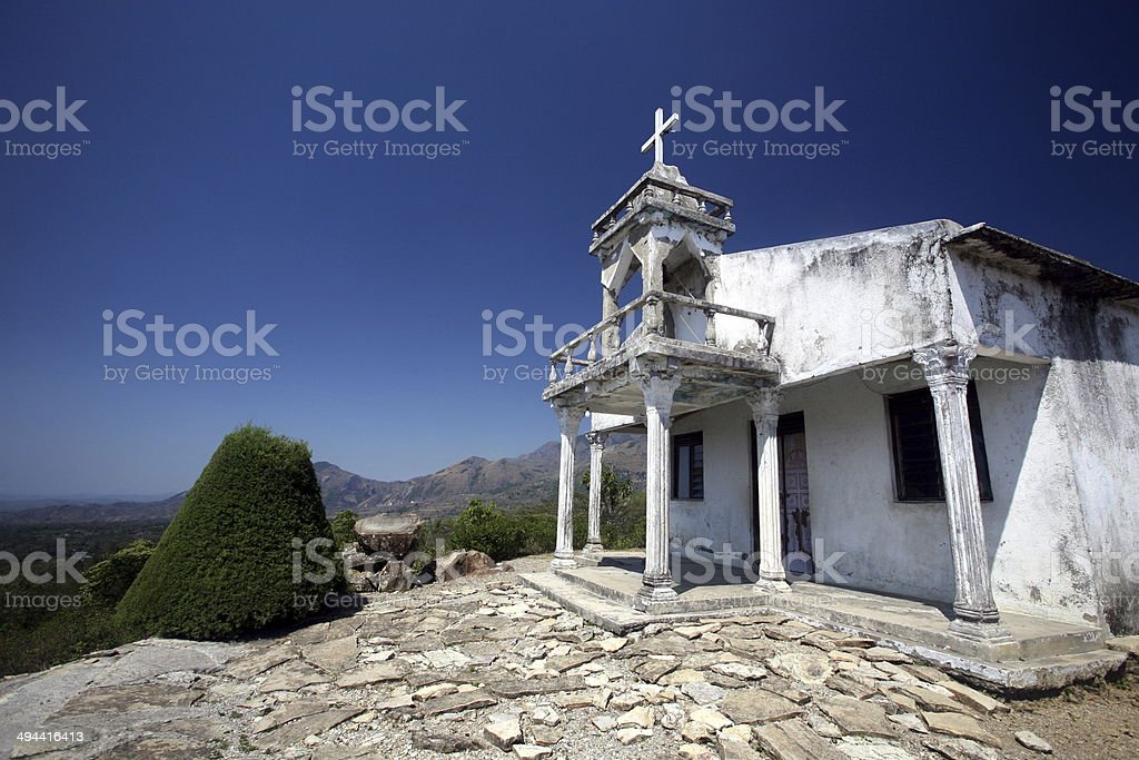 ASIA EAST TIMOR SAME CHURCH COLONIAL stock photo