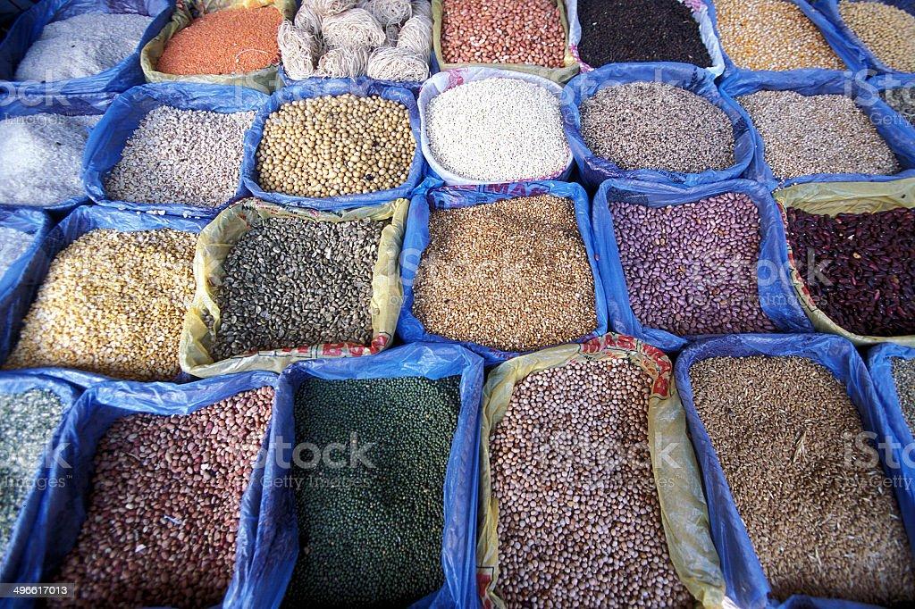 AFRIKA TANZANIA ZANZIBAR MARKET stock photo