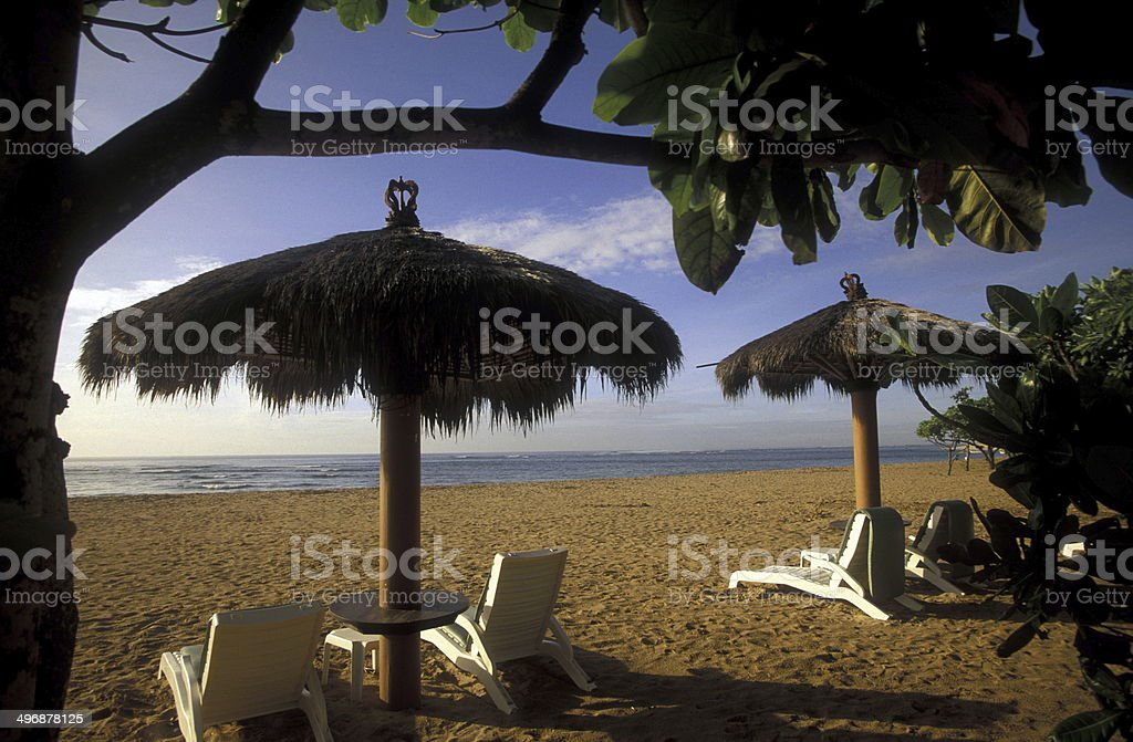 ASIA BALI NUSA DUA BEACH stock photo