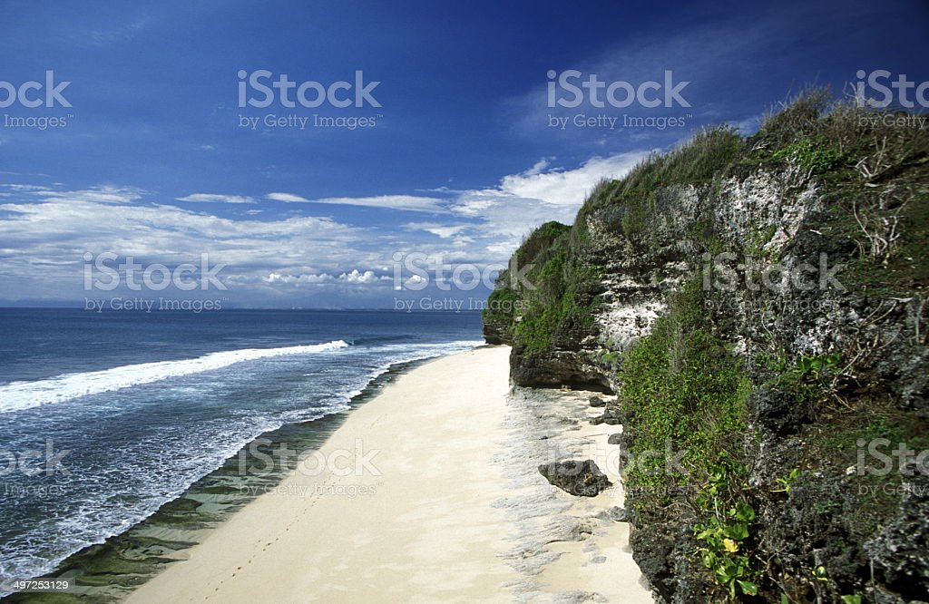 ASIA BALI PARADISE BEACH stock photo