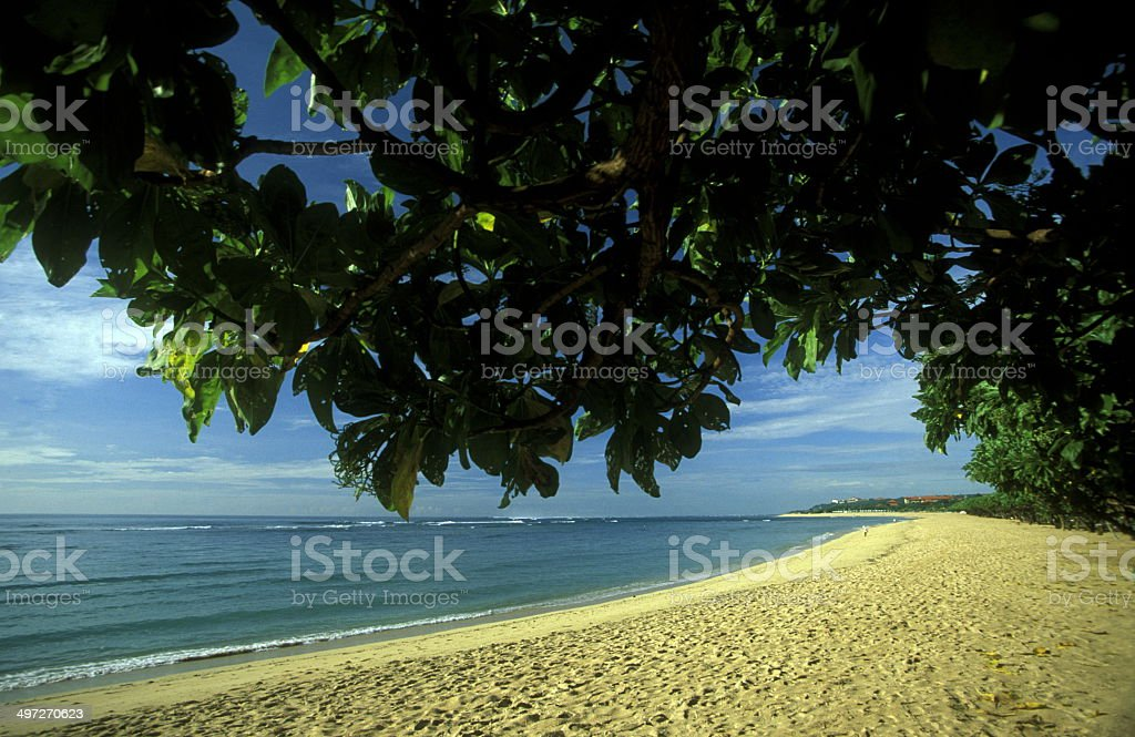 ASIA BALI NUSA DUA BEACH royalty-free stock photo