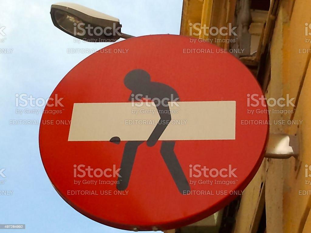 ARTISTIC TRAFFIC SIGNAL stock photo