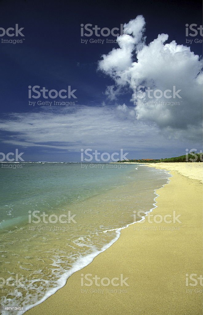 ASIA BALI BEACH stock photo