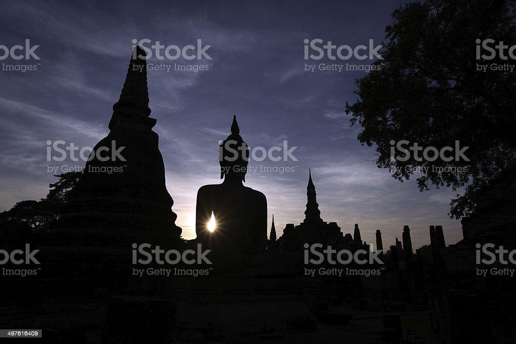 THAILAND SUKHOTHAI REISEN royalty-free stock photo