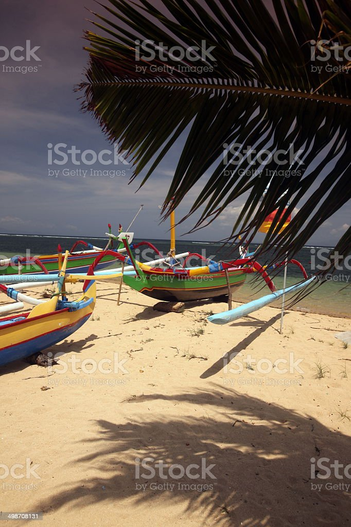ASIA BALI SANUR BEACH stock photo