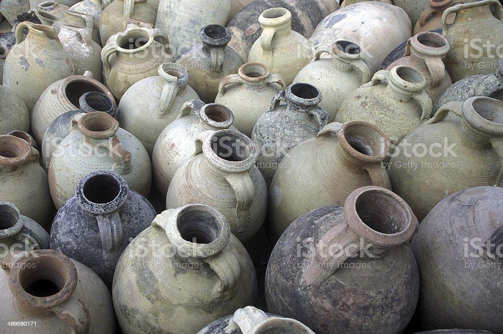 TUNISIA POTTERY stock photo