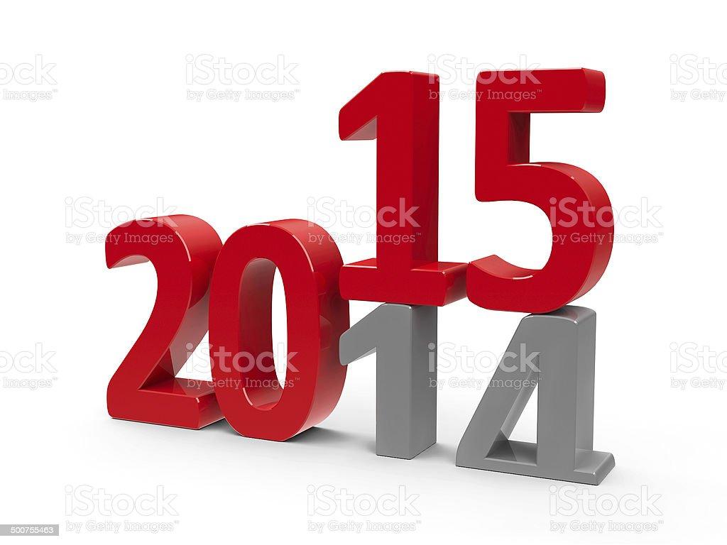 2014-2015 stock photo