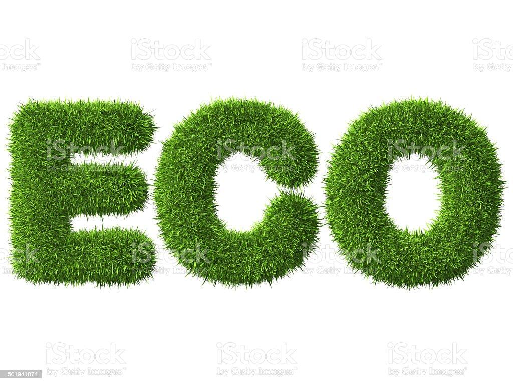 ECO stock photo