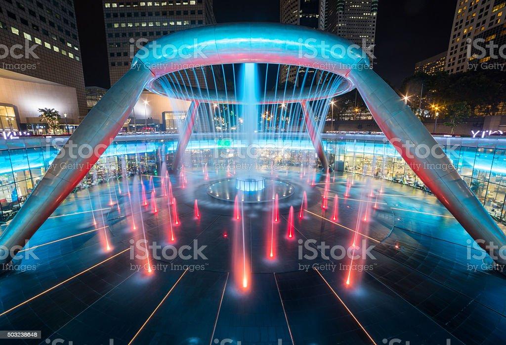 CITY SCAPE IN SINGAPORE stock photo