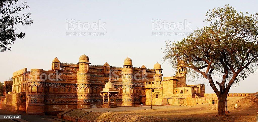 GWALIOR FORT, MADHYA PRADESH, INDIA stock photo